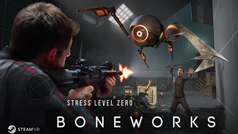 <p>Boneworks это без преувеличения новый этап в развитии игр виртуальной реальности. Невиданный до настоящего времени уровень взаимодействия игрока с окружающим его пространством, где все в максимально реалистичной степени соответствует законам физики.</p>
